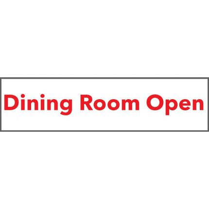 Dining Room Open Banner 2x8