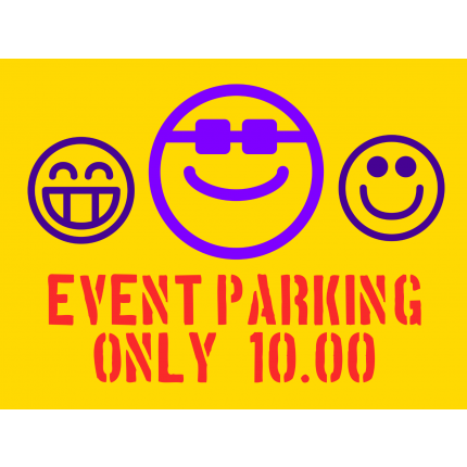 Parking - Template, Online Designer Template